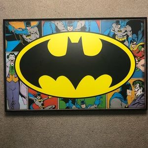 Batman Wood Art Wall Decor